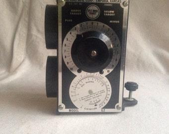 Vintage Hopkins elevation measurer