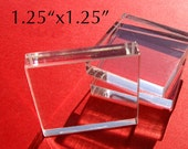 Acrylic Block Stamp Mount, 1.25 x 1.25 in.