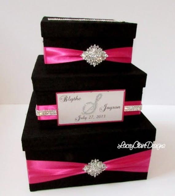 Wedding Gift Box Bling Card Box Rhinestone By