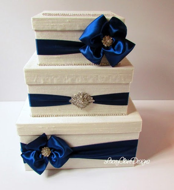 Unique Wedding Gift Card Holders : Card Box, Bling Card Box, Rhinestone Money Holder, Unique Wedding Gift ...