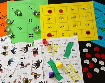 The Sight Word Games Pack