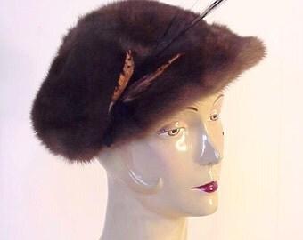 Valentine Furs - Robin Hood MINK Hat