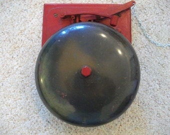 Vintage Bell - Boxing Bell - Fire Bell - Antique Bell