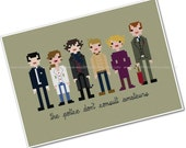 The *Original* Pixel People - Sherlock - PDF Cross-stitch PATTERN - Instant Download