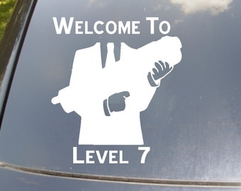 Welcome to Level 7 Car Decal