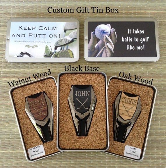 Groomsmen Gifts Wood Golf Ball Marker / Divot Remover - Gifts ...
