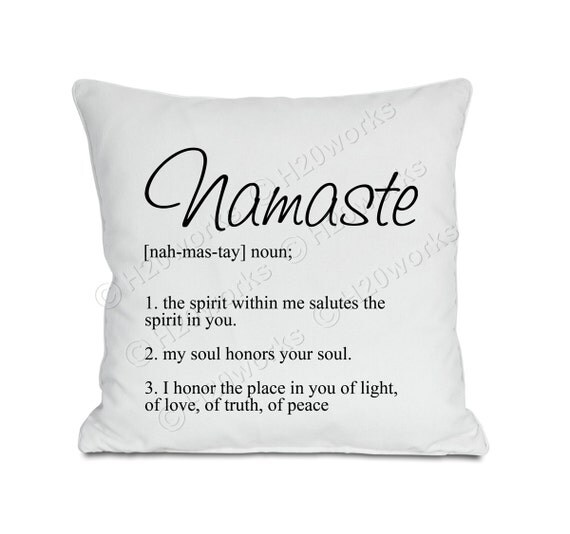Namaste, 8x8 Large Image & Transfer, Dictionary Definition, Zen, Yoga,  Canvas Totes, Prints, T-Shirts, Pillows, Printable, INSTANT DOWNLOAD