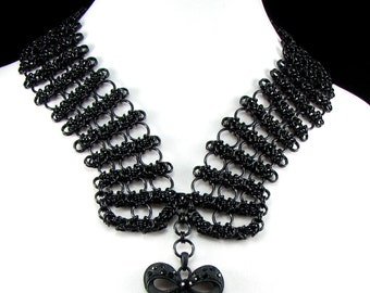 Feysoux Chainmaille Statement Necklace