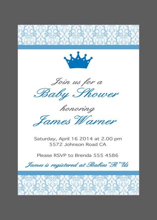 baby shower invitation baby boy baby shower invite birthday, Einladungsentwurf