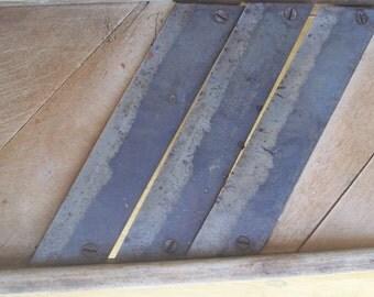 Vintage Wooden Mandolin Slicer - Decorative Kitchen Tool - Slaw Slicer -