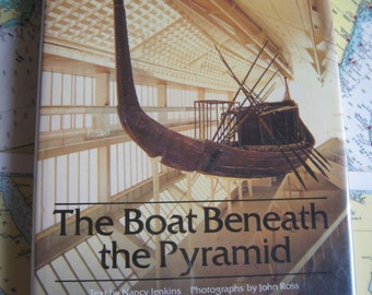 The Boat Beneath the Pyramid by Nancy Jenkins Hardcover First edition 1980.