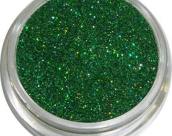 Dark Green Holographic Glitter