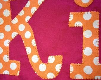 Custom Monogrammed Pillowcase