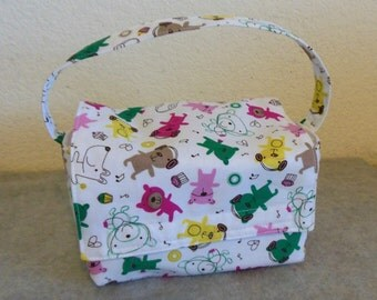 Kid's Insulated Lunch Bag - Rocking Puppies