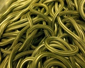 Snake chain 60s antique yellow raw brass 6 mm genuine MOD style 2m