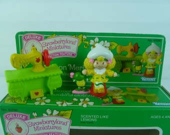Vintage Strawberry Shortcake Deluxe Miniature Lemon Meringue