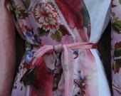 Raining Cherry Blossoms Spring Robe