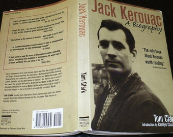 Jack Kerouac A Biography, by Tom Clark, Books, Books Biographies, Books History, Old Books, Book Lover