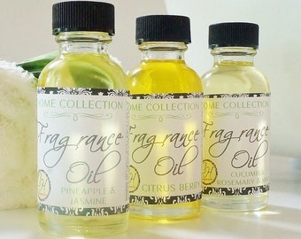 CHOOSE 3 OILS & SAVE Premium Home Fragrance Oil Sampler - air freshener, scented, tart warmer, room fragrance, potpourri