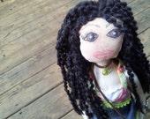 Sunshine Hippie Artistic OOAK Doll