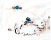 CRUISE BUDDIES Ankle Bracelet Anchor Anklets for Women COLORS Nautical Anklets