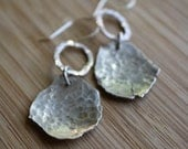Ready-to-Ship—Recycled Sterling Silver Earrings