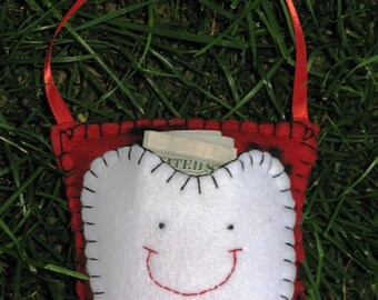 Pawprint Tooth Fairy Pillow