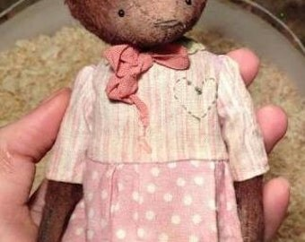 "PDF File for 6 Inch Vintage Style Bear ""Marysia"""