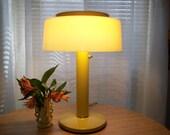 Mid Century Modern Yellow Lamp Atomic Eames Era 50s - 60S