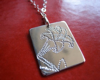 Lily Sterling Silver Necklace