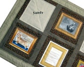 Custom Order Pet Memorial Quilted Wall Hanging for Frances B