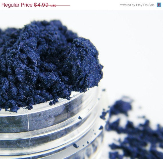 60% OFF SALE FCC Midnight Blue 7 All Natural Loose Pigment Mineral Eye Shadow Makeup