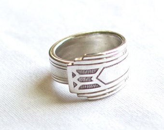 Spoon ring Friendship 1932 silverware jewelry