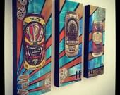 IPA Craft Beer Painting Series
