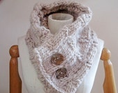 Chunky Alpaca Cowl Knitting Pattern