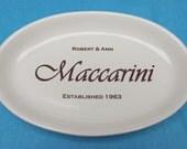 Custom Anniversary Wedding Platter