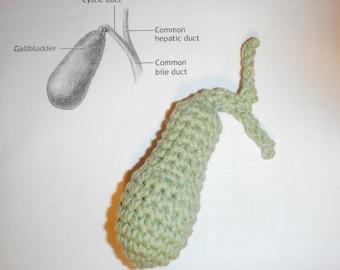 Cranky Crocheted Gallbladder