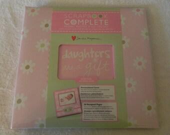 Baby Girl 12 x 12 Premade  Scrapbook
