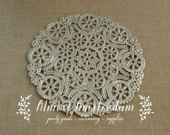Silver Paper Doilies