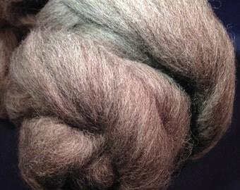 Gray Shetland Wool 2oz Spinning Fiber Felting Fiber