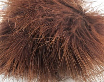 Marabou  Brown MRDQ-21 craft feathers craft feathers wispy Craft feathers boutonnieres fly tying crafts