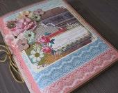 Start Everyday With a Smile Paper Bag  Scrapbook Mini Album
