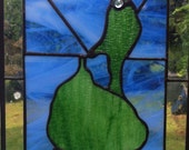 Stained Glass Map Block Island, RI