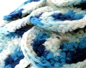 Cotton Face Scrubbies - Ocean Facial Scrubbies - Set of 7 Cotton Facial Cleansing Pads