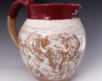 An Elephant Pitcher