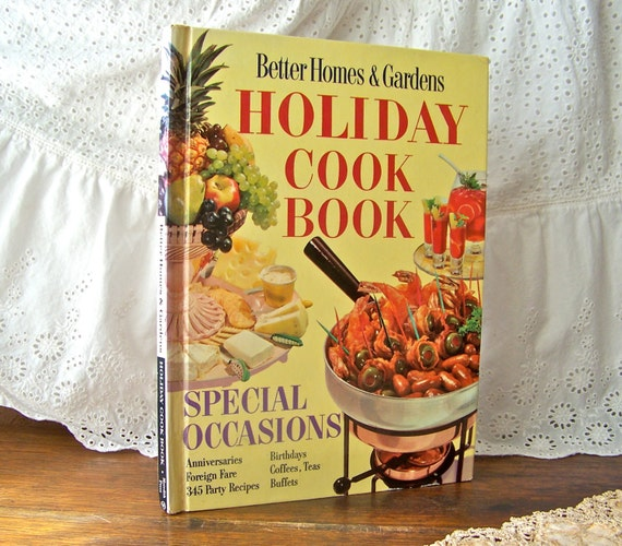 Vintage better homes and gardens holiday cookbook by Better homes and gardens christmas special