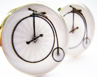 Gift for dad, gift for grandad, Cycling Cufflinks, Biking cufflinks, Bike riding cufflinks,  cufflinks, Bicycle cufflinks, Bike cufflinks