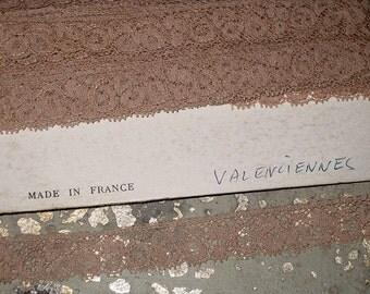 Vintage Antique French Lace Trim from Paris, France Flea Market Circa 1910
