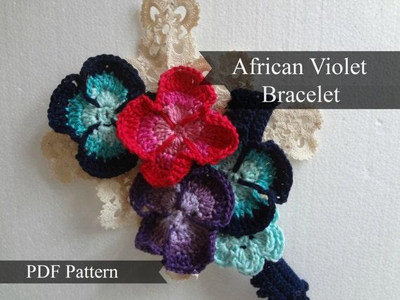 Afican Violet Bracelet