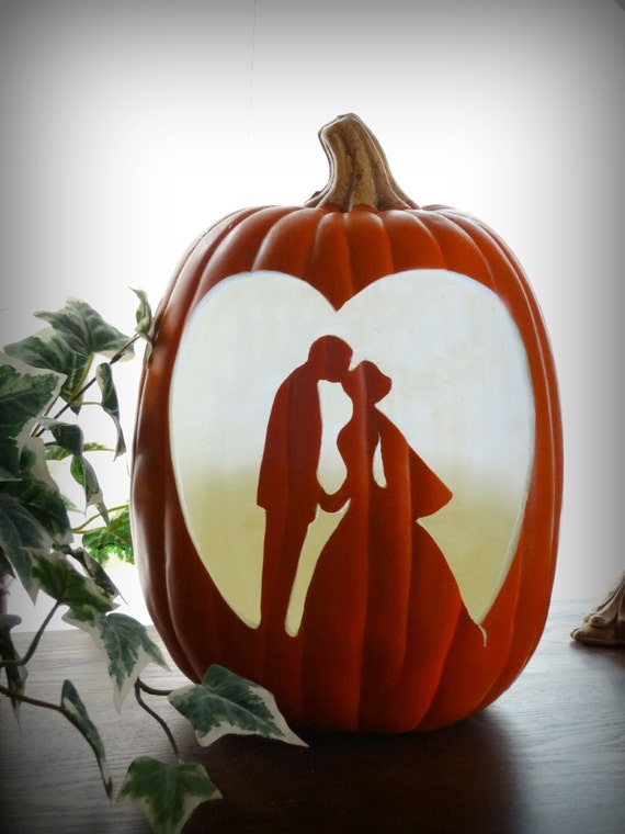 Items similar to hand carved cinderella quot bride and groom